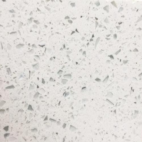 Galaxy white color artificial quartz stone slabs China