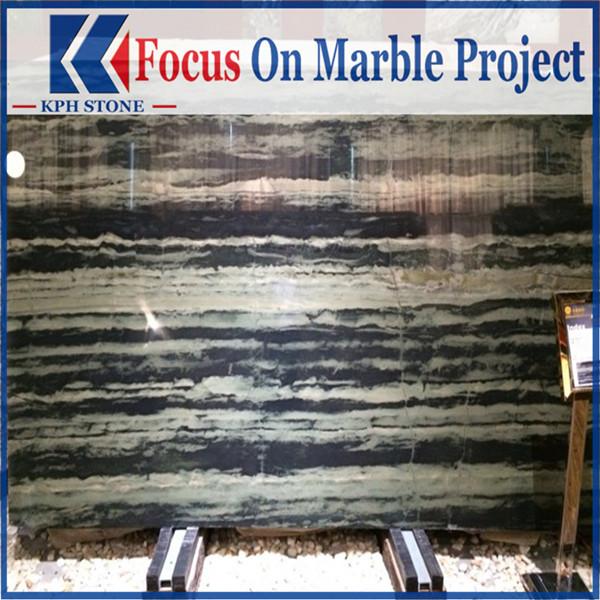 Luxury Stone Black Wooden Grain Marble