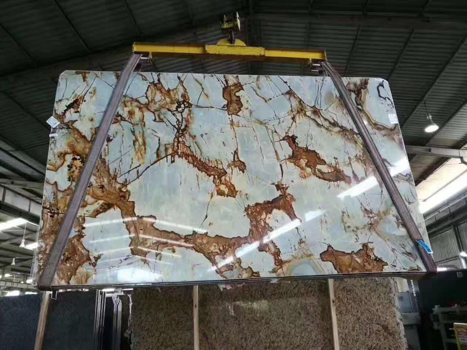 Golden Marble Slab Rockville Gold Marble