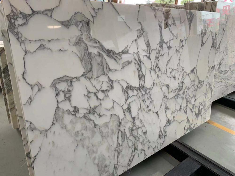 Italy Arabescato Carrara White Marble Slab