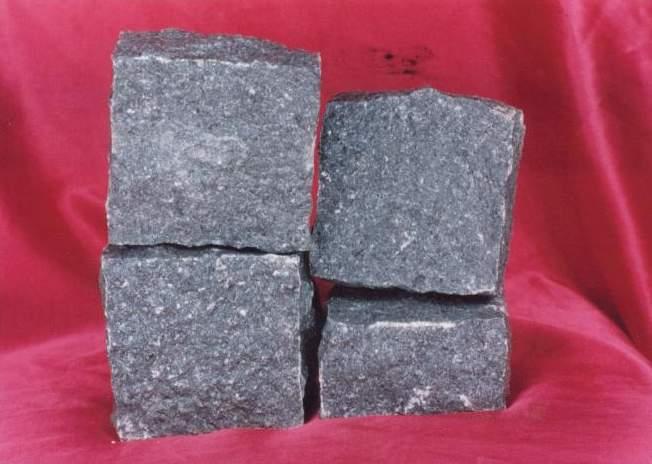 Black granite basalt tile