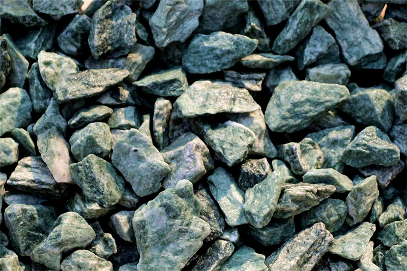 GS-006 Green Gravel stone