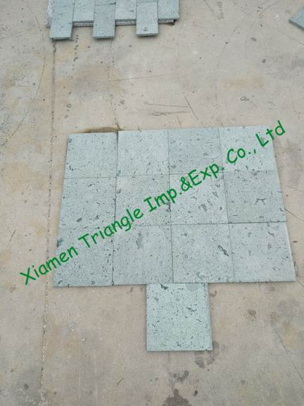 China Green Sukabumi Stone Granite Pool Tiles