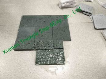 China New Sukabumi Green Stone Swimming Pool Tile