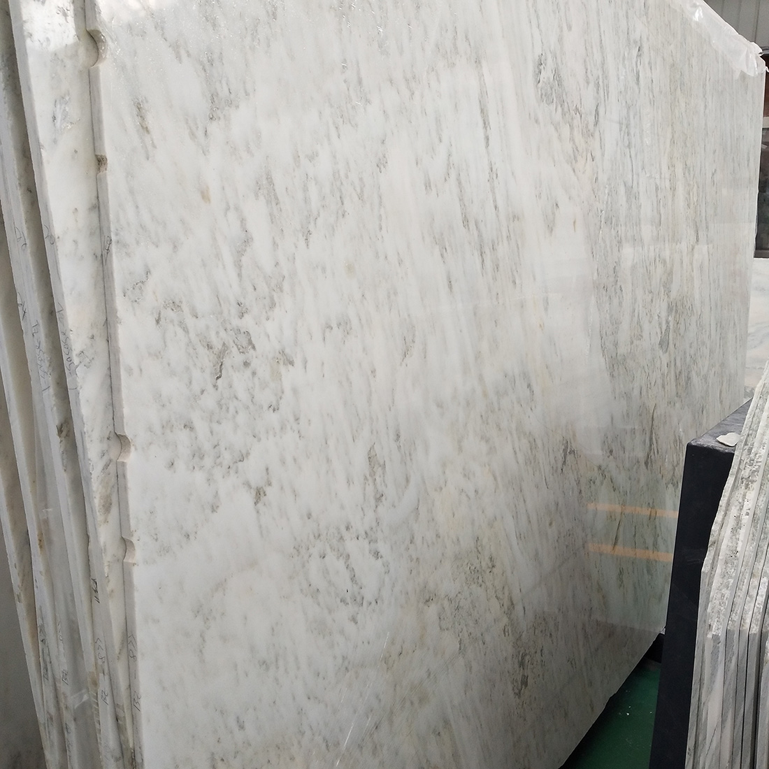 White Marble Slabs 18mm Thickness for background wall