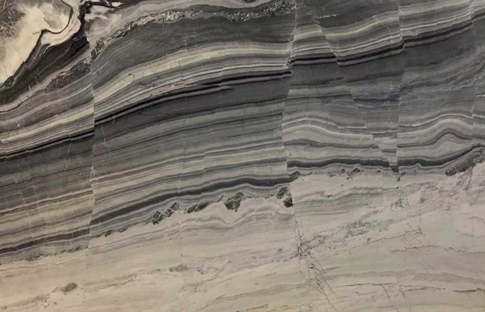Blue Line Marble