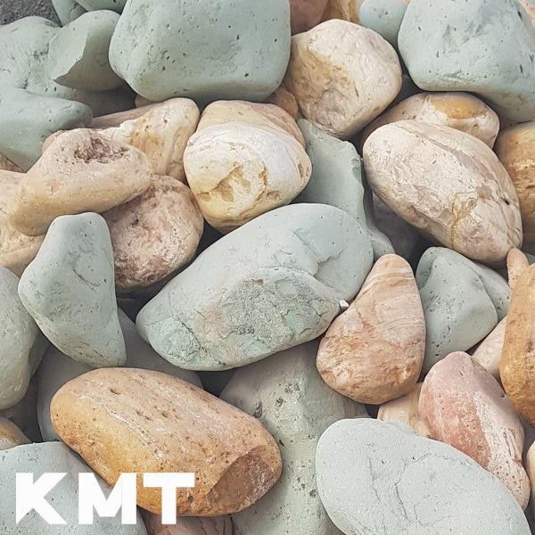 Multicolor River Washed Pebble Stone L-15002