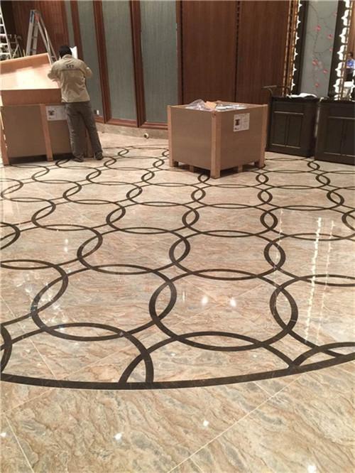 marble water jet pattern
