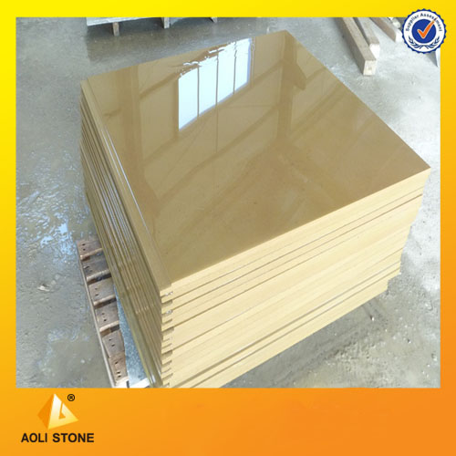 Yellow sandstone wall panel for wall Decoration