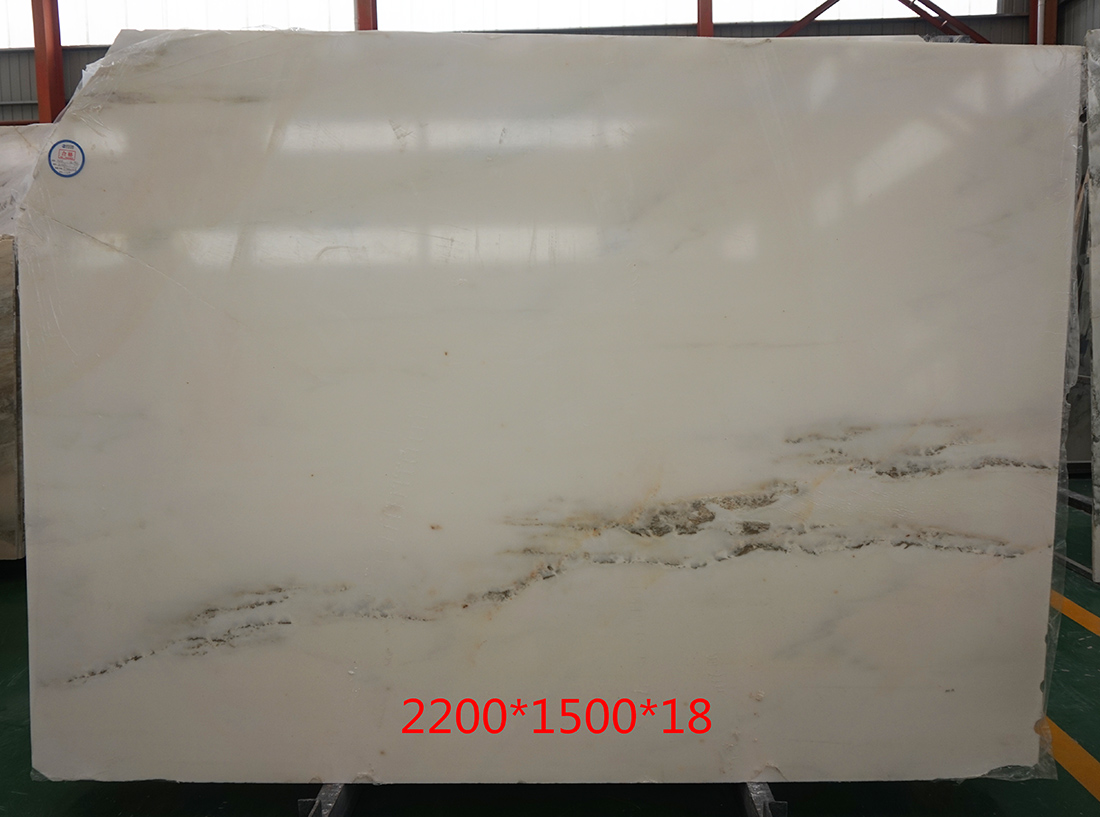 Imperial White Danby Marble Slabs