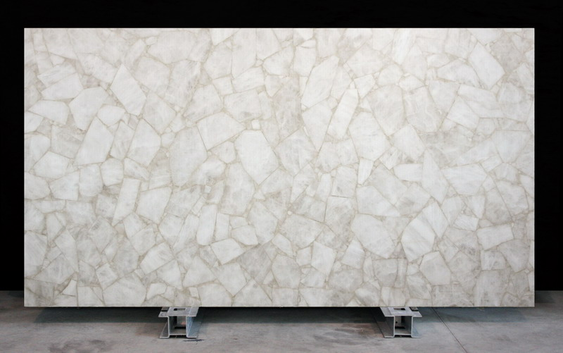 Semi Precious slabs White Crystal