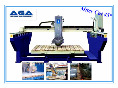 Automatic Bridge Saw for Granite Countertops Tiles