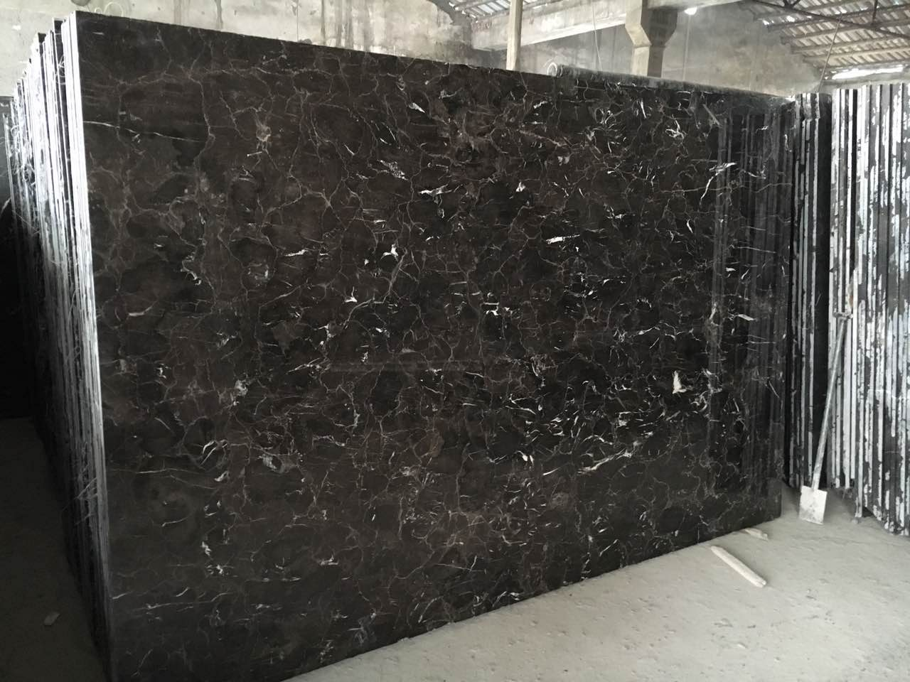 Chinese Emperador marble 1.8cm Slab FOB Wuhan port USD 14M2
