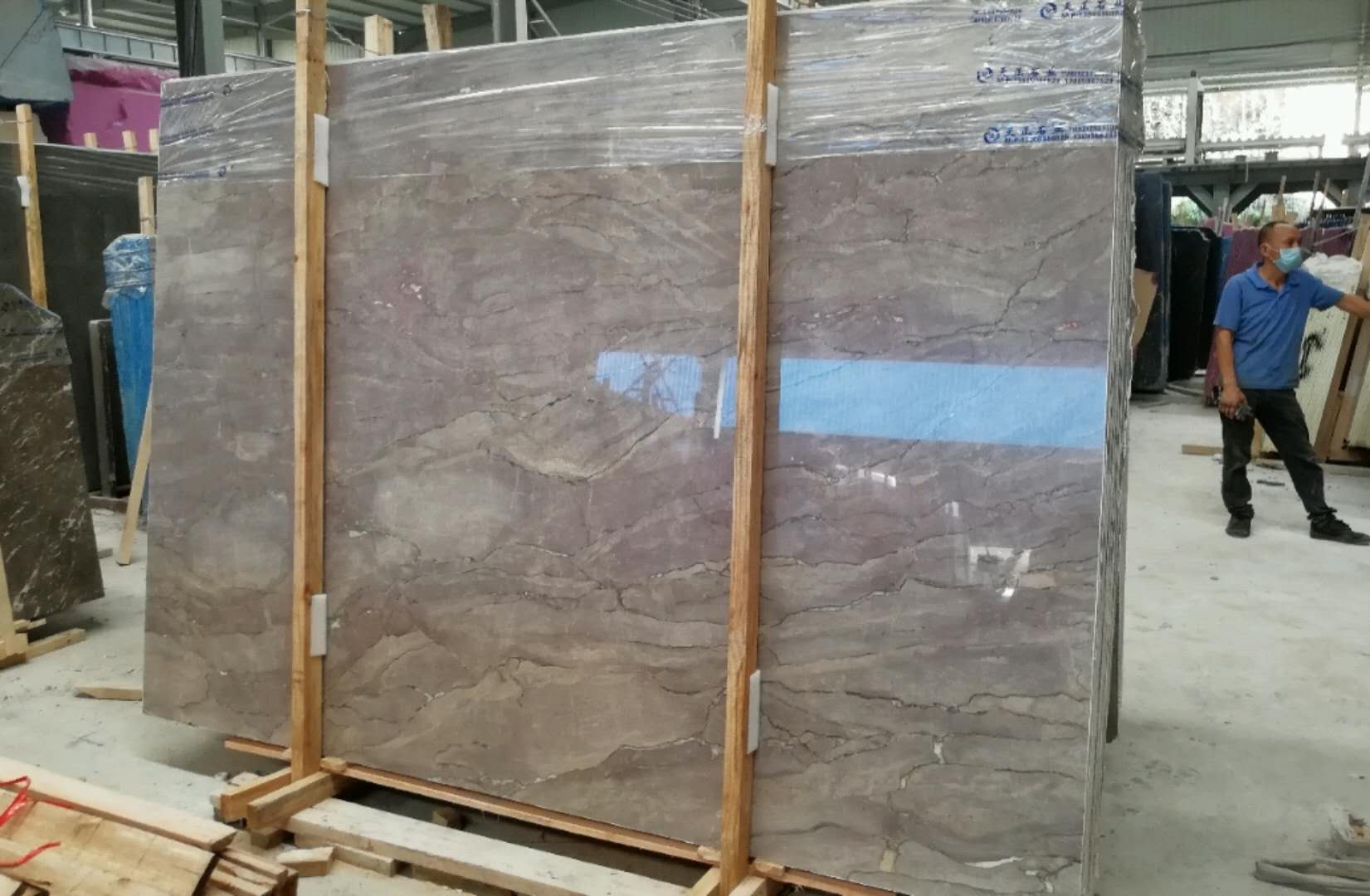 Best Price Grey Marble Big Slab