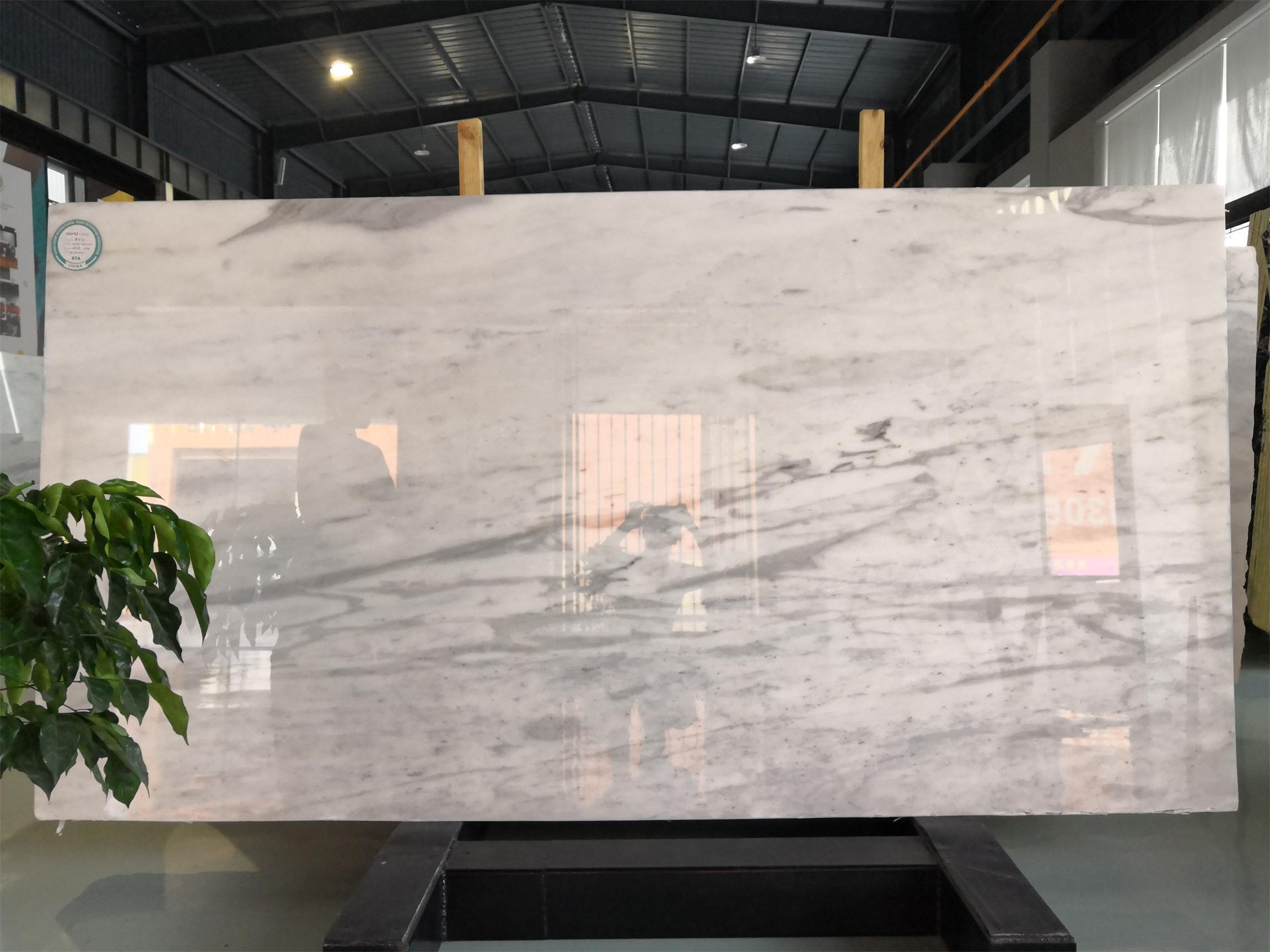 Statuario Polished Marble Slabs White Marble Slabs