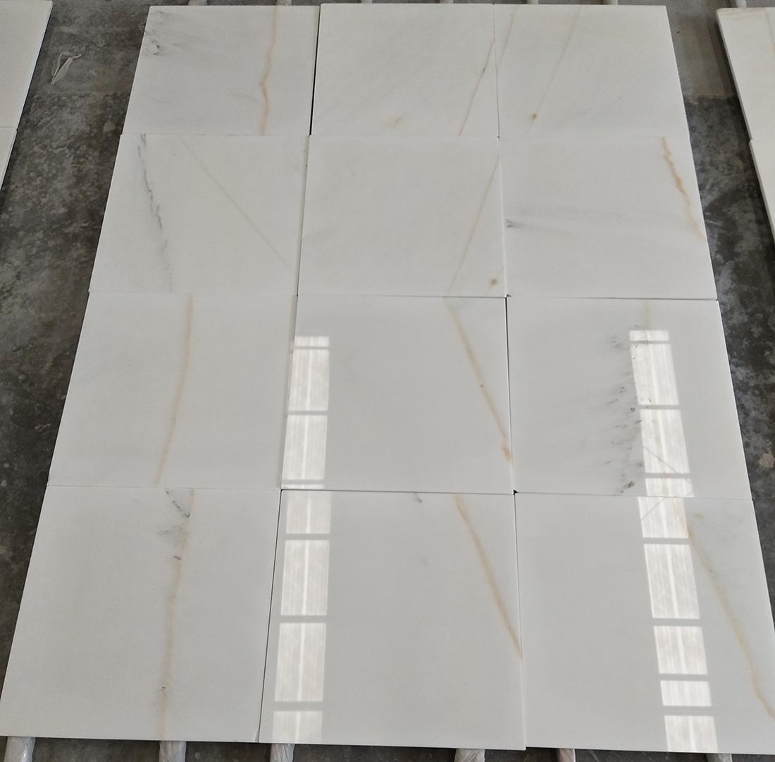 white floor tiles stone