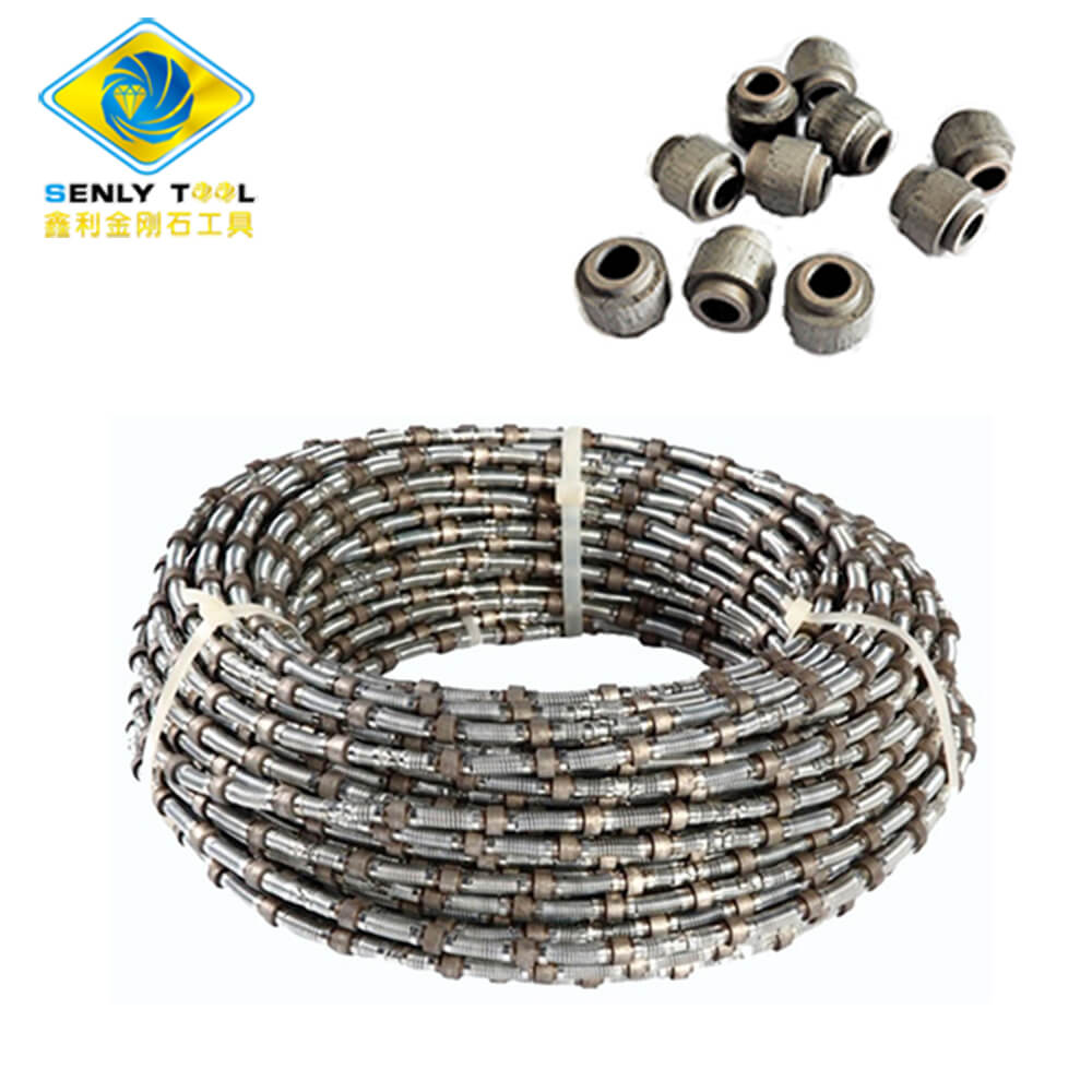 GraniteSandstoneQuarryMarbleStone Cutting Diamond Wire Saw and Beads