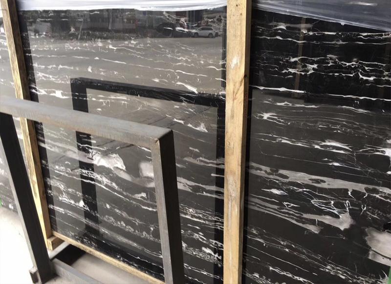 silver portoro marble silver dragon marble slab  cut to size