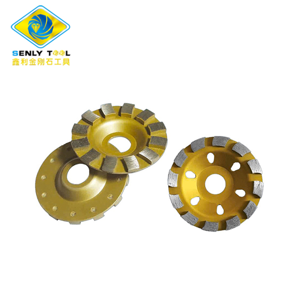 Reinforced Concrete Floor Diamond Grinding Cup Wheel