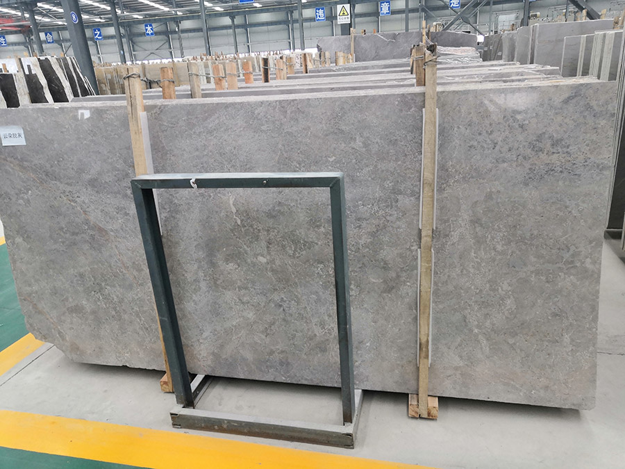 New Castle Grey Marble Slabs from China