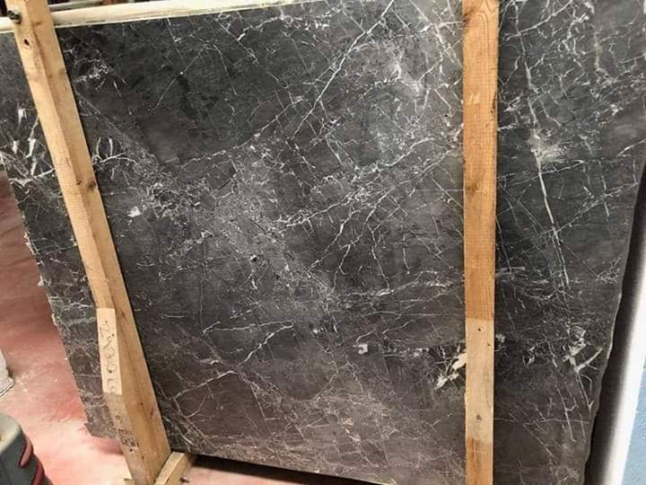 Pietra Grey Polished Grey Marble Slabs