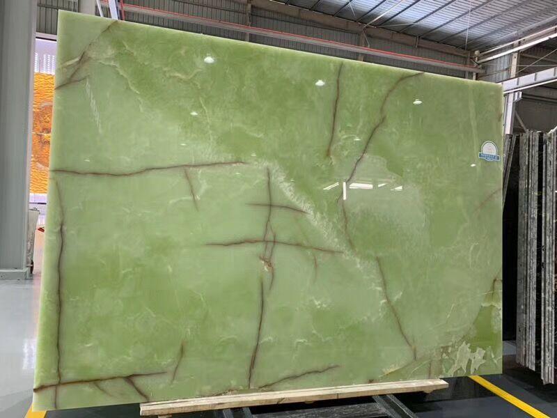 Green Onyx Big slab
