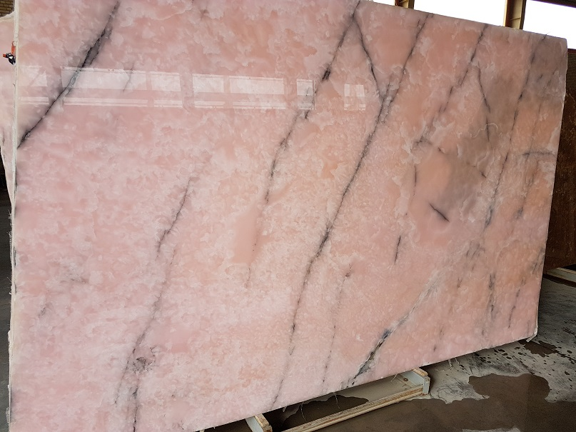 Pink Onyx Slabs Polished Iranian Onyx Slabs
