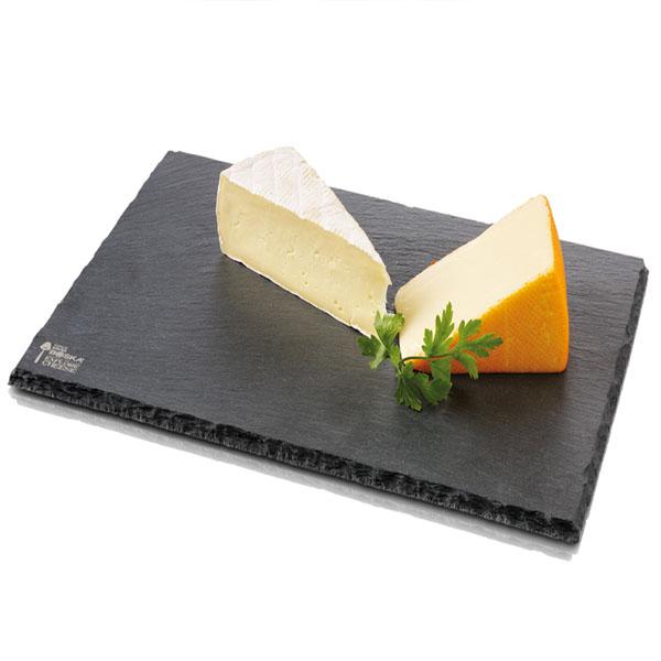 30 20cm black slate cheese board