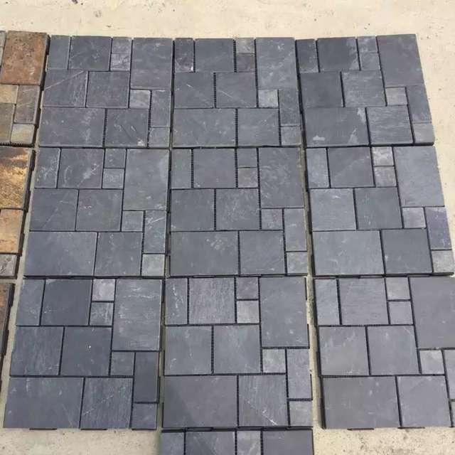 Slate square tile
