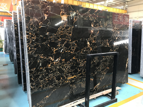 Mystique DarkAthens Portoro Marble
