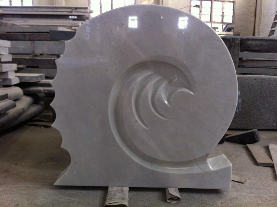 Marble tombstone  white marble tombstone