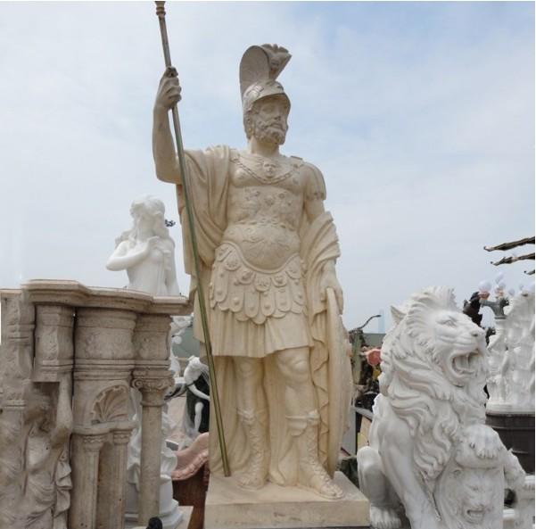 Large life size garden marble man stone sculpture