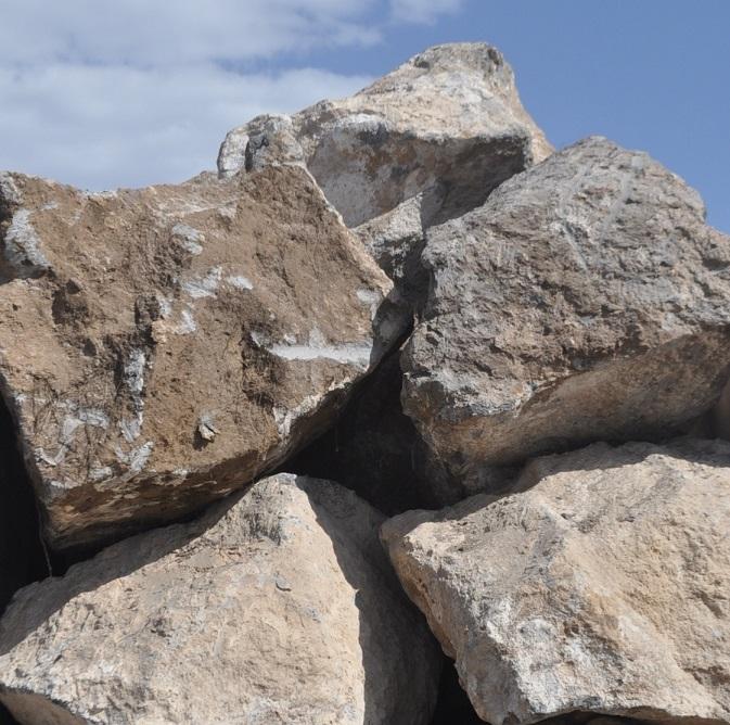 Basalt Rocks Quarry Natural Stone Blocks