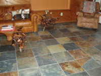 T-24 Multicolor Slate Tiles