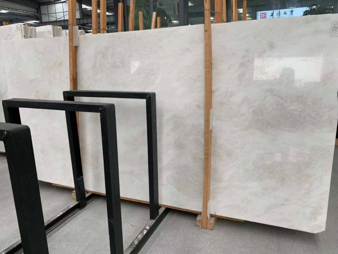 White Marble Slabs Polished Marble Slabs with High Quality