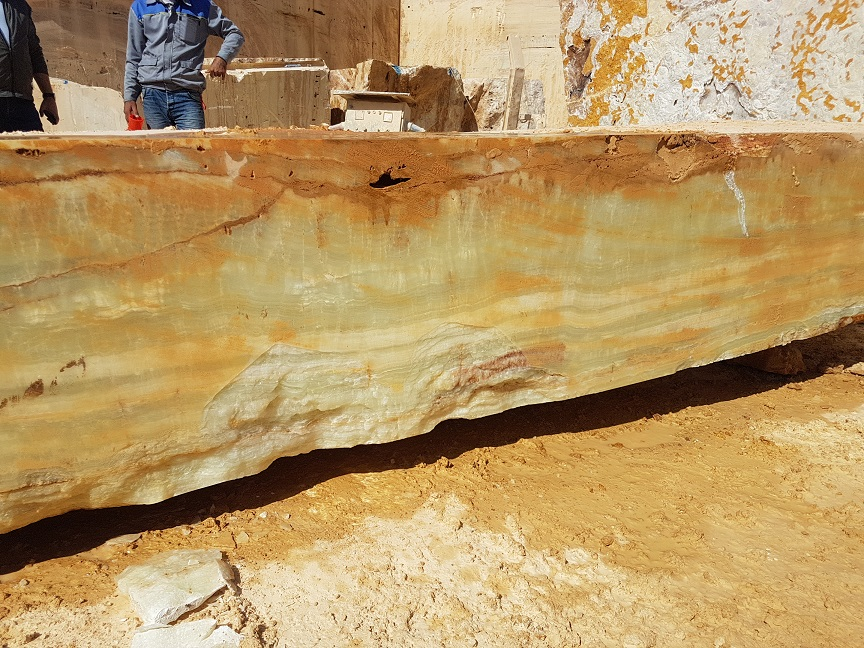 Iran Green Onyx Natural Blocks