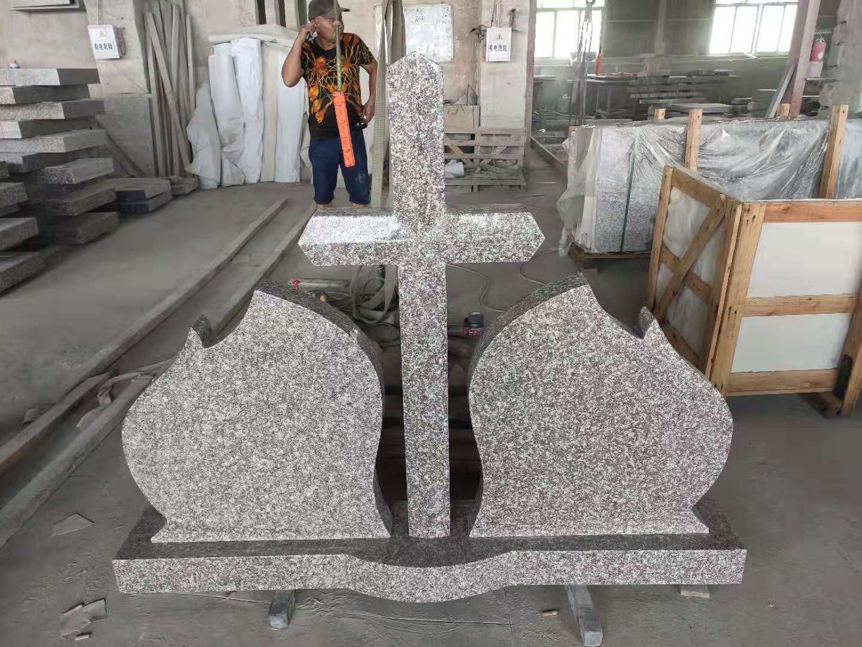 Granite original G664 tombstone
