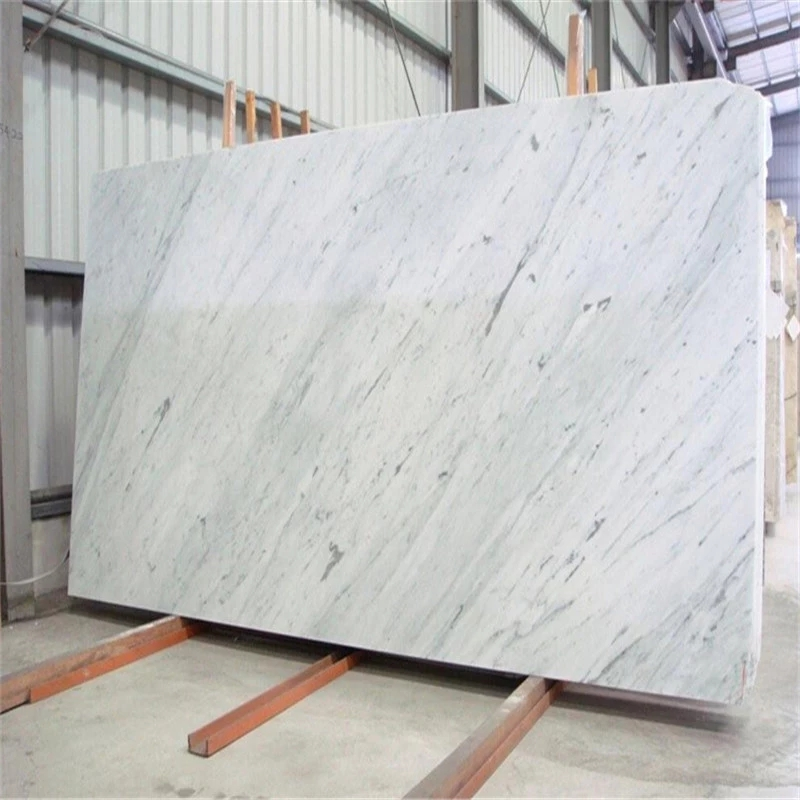 Carrara White Marble Slab Countertops
