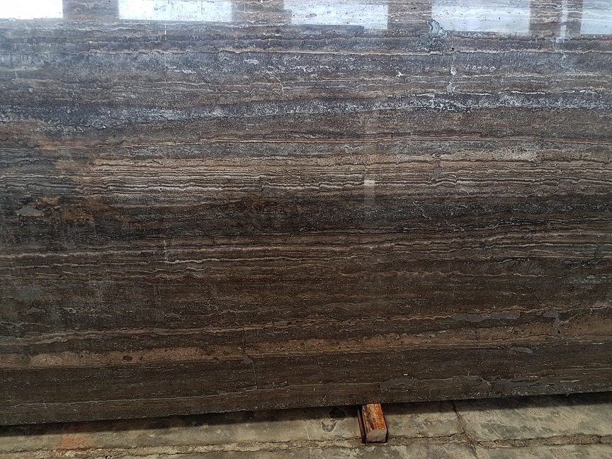 Titaniun Travertine Polished Slabs