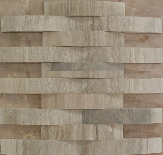 3D travertine marble mosaic