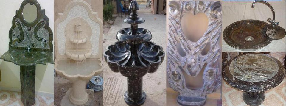 Marble Stone Fountain with High Quality