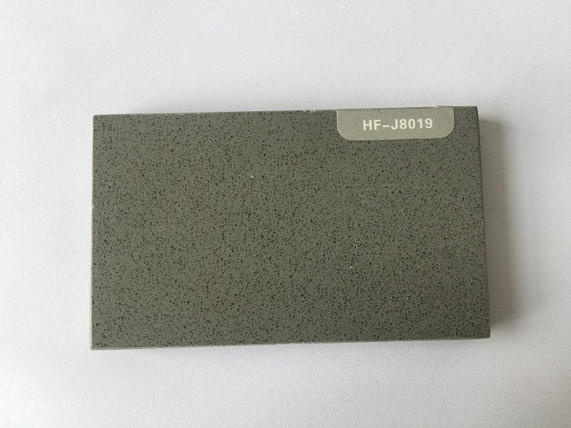 Dark gray color quartz stone for countertops