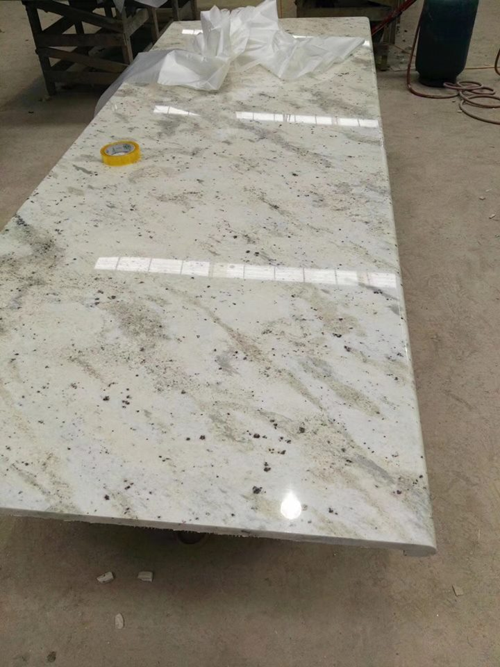 108 Adromenda White Granite Countertop