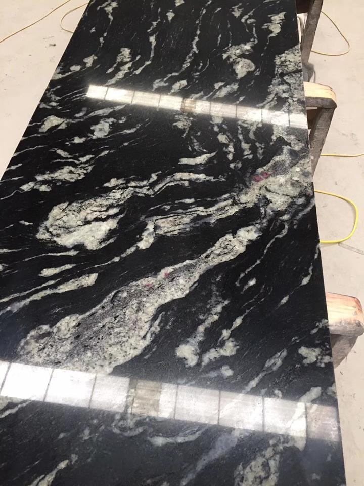Black Cosmic Granite Countertop