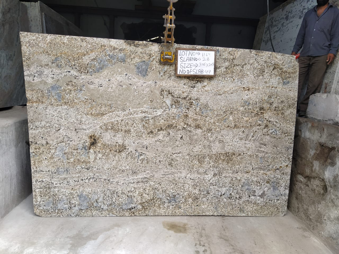 Blue Dunes Granite Slabs