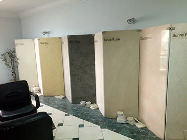 Office marketing marble and granite export supply and internal installation