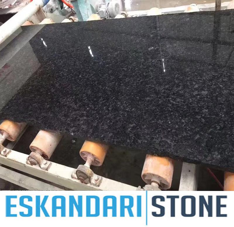 Africa Messina Black Granite slab  cut to size