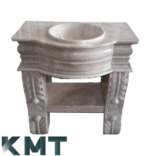 Pedestal Sink Wash Basin S-15023