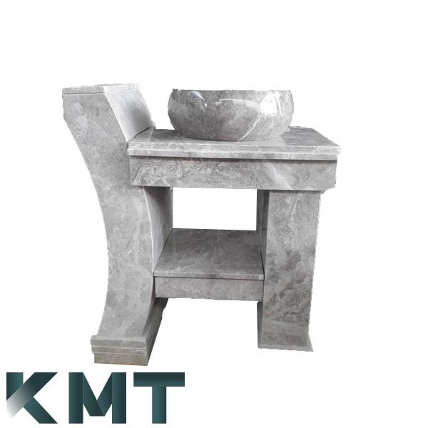 Pedestal Sink Wash Basin S-15024
