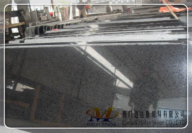 China G684 Black Granite Slabs